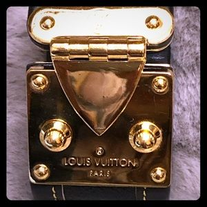 Louis Vuitton S-Lock Cuff Bracelet
